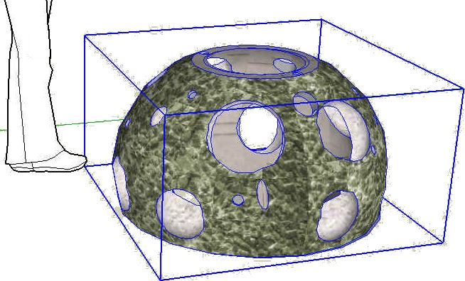 Reef Ball 3-D Google Sketch Up Models